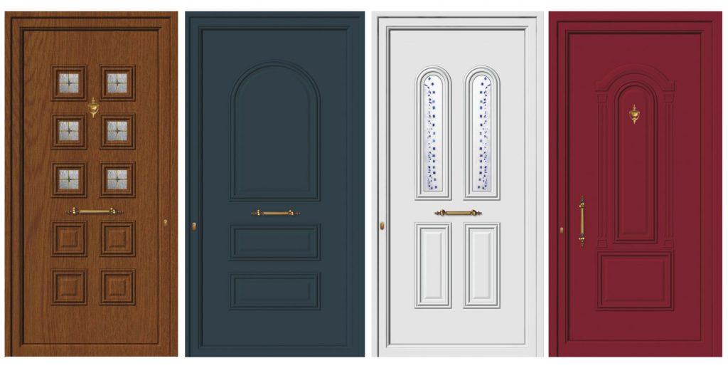 Πόρτες Αλουμινίου ασφαλείας